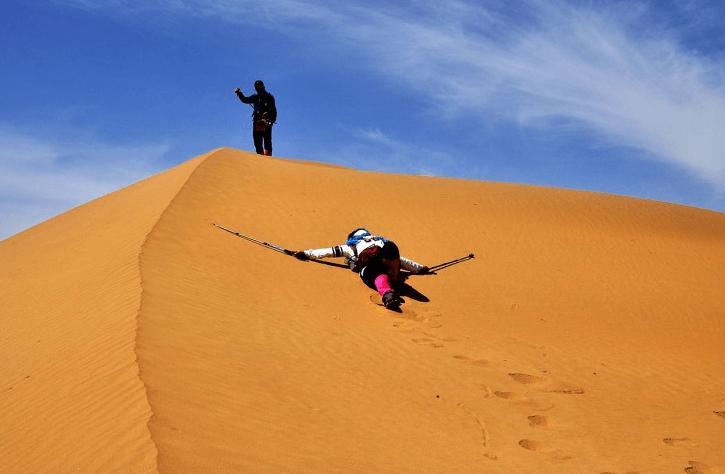 库布齐沙漠徒步穿越攻略